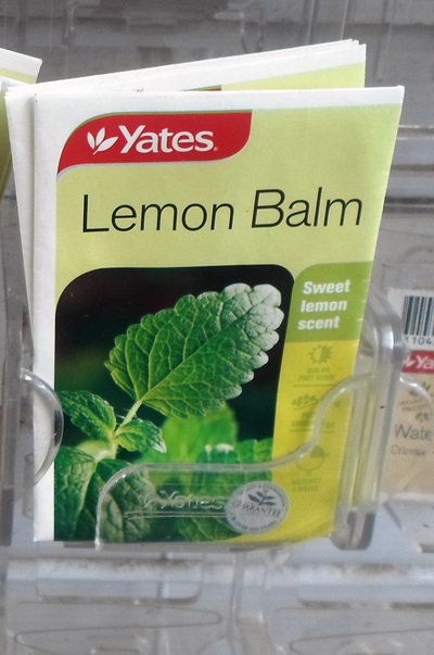 Packet Of Lemon Balm Seeds